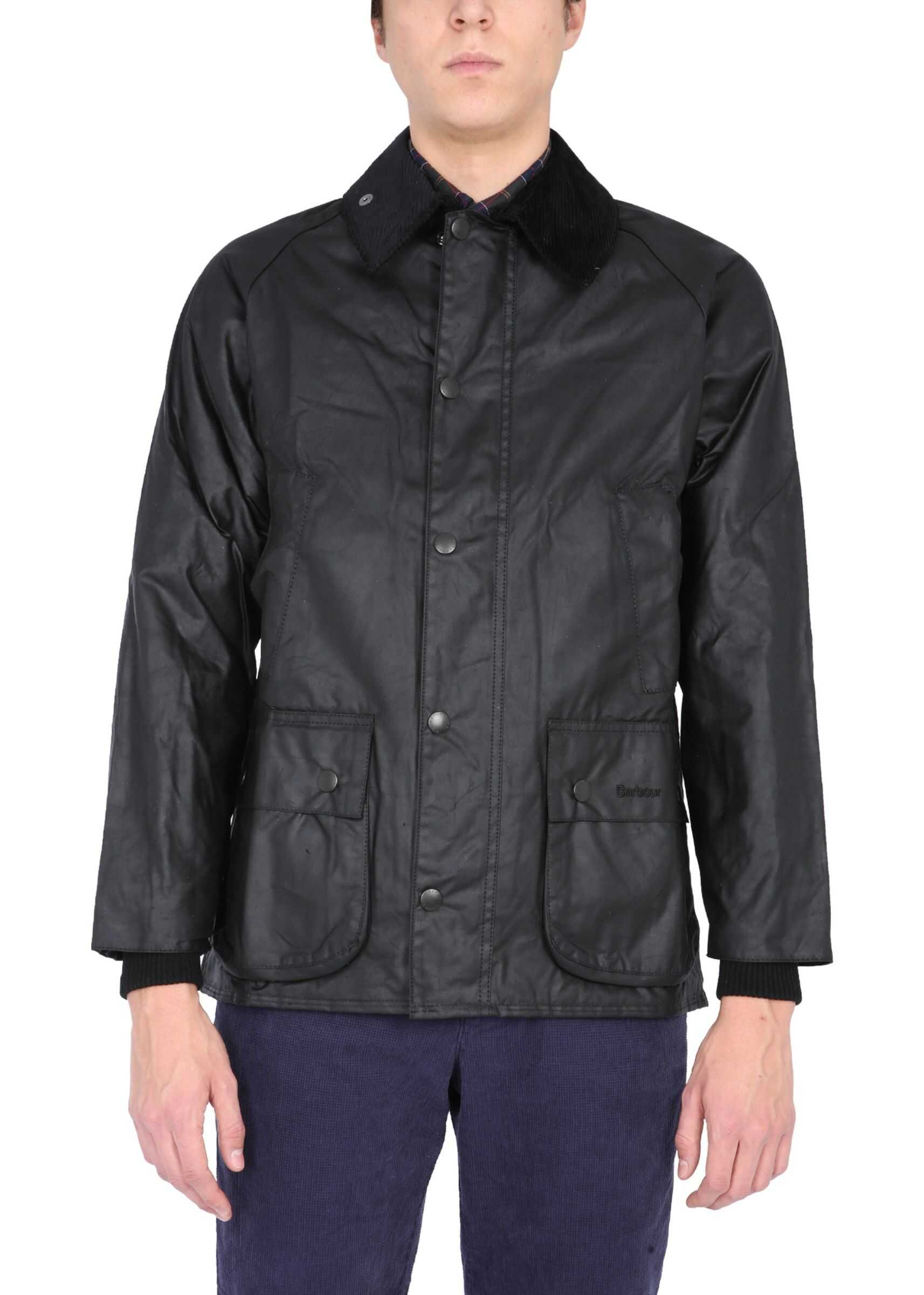 """Barbour """"Bedal"""" Jacket BLACK imagine"""