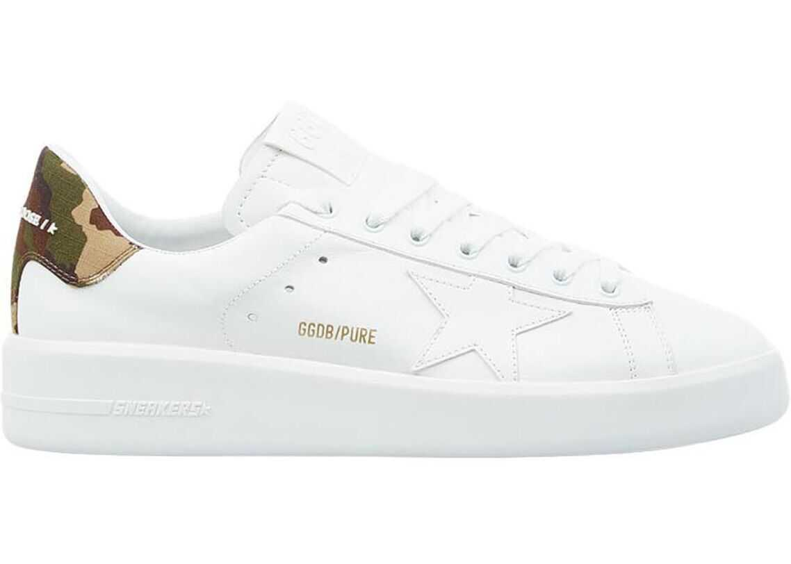 """Golden Goose Sneaker """"Starter"""" White imagine b-mall.ro"""