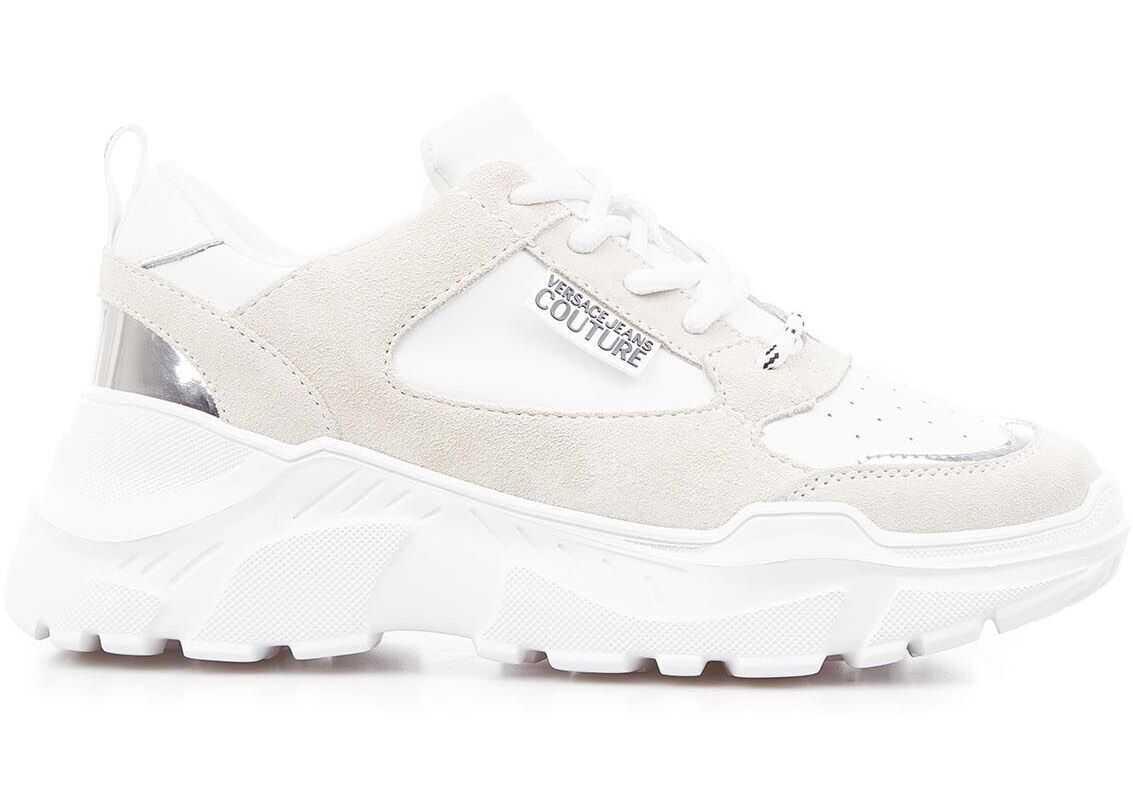 Versace Ugly Sneaker White imagine b-mall.ro