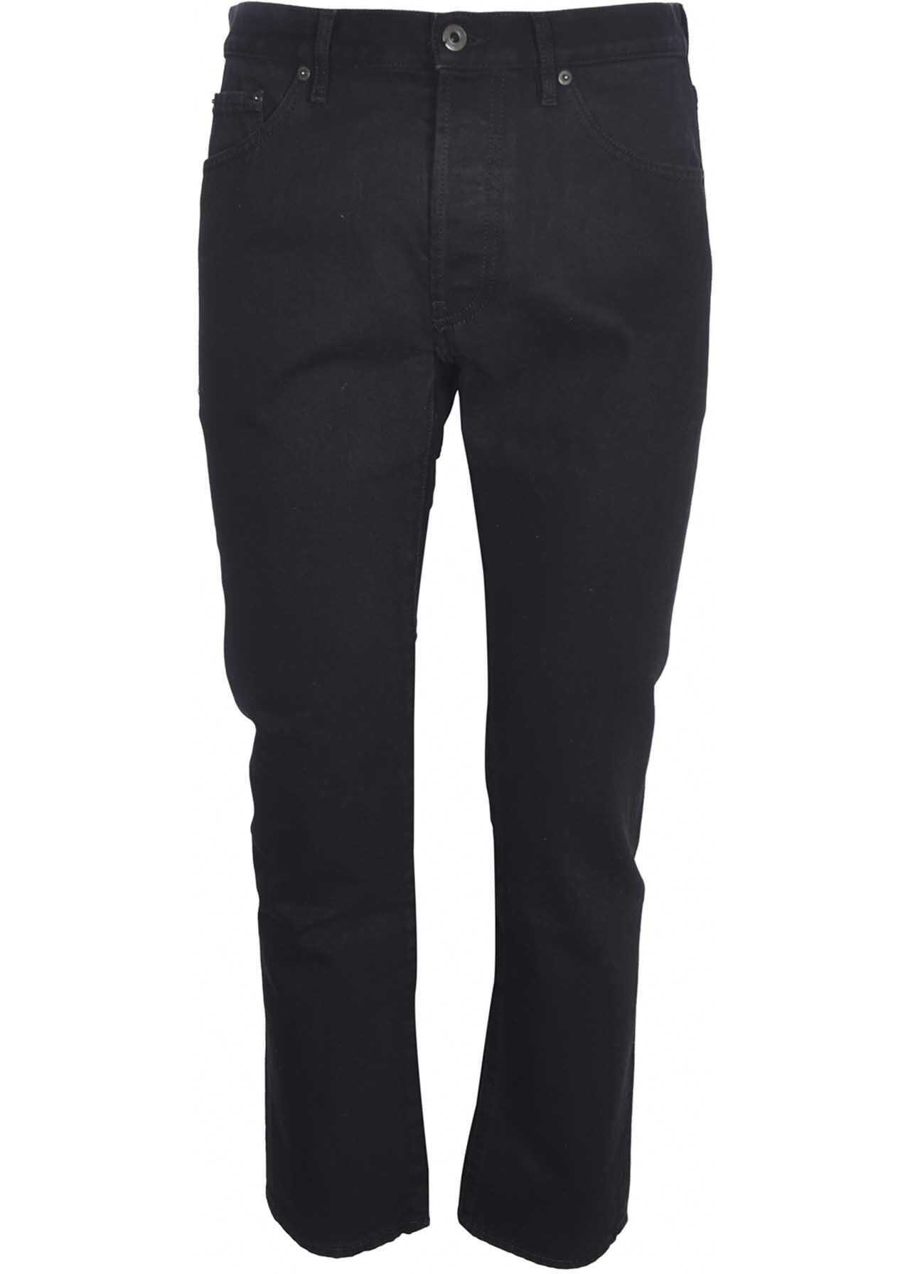 Valentino Garavani 5 Pockets Jeans In Black Black imagine