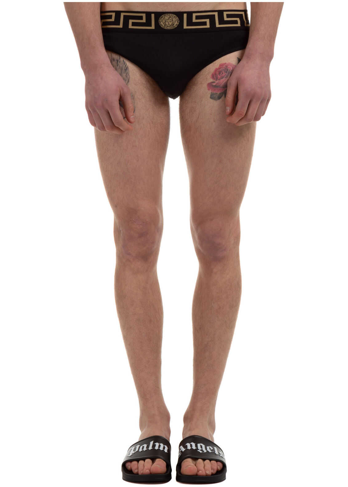 Versace Brief Swimsuit Black imagine
