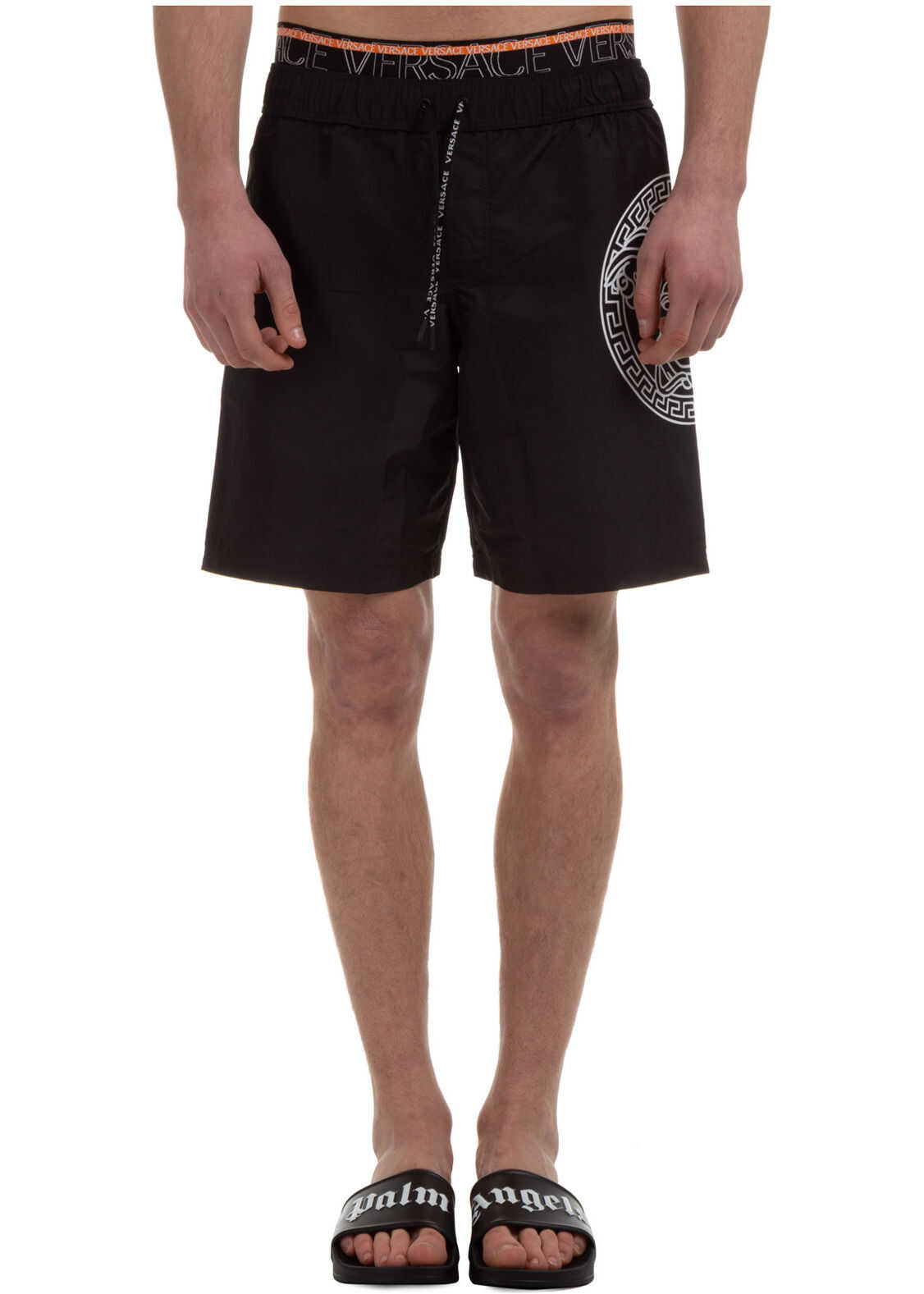Versace Swimsuit Medusa Black imagine