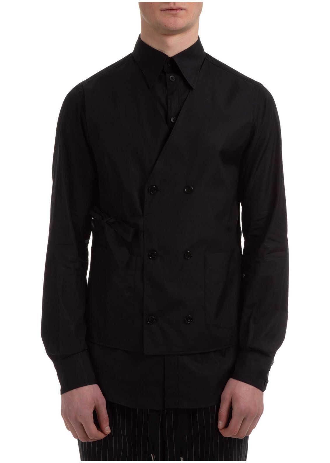 Dolce & Gabbana Dress Shirt Black imagine