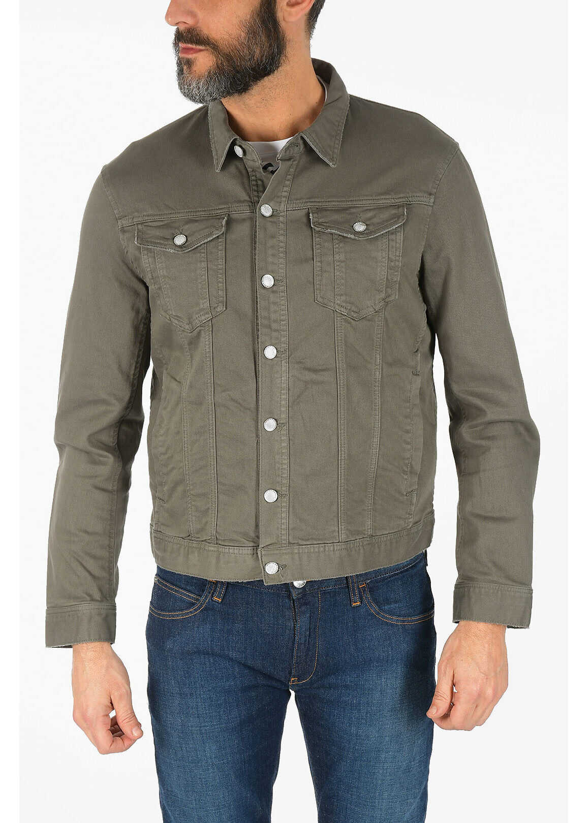 Armani ARMANI EXCHANGE Denim Jacket GRAY imagine