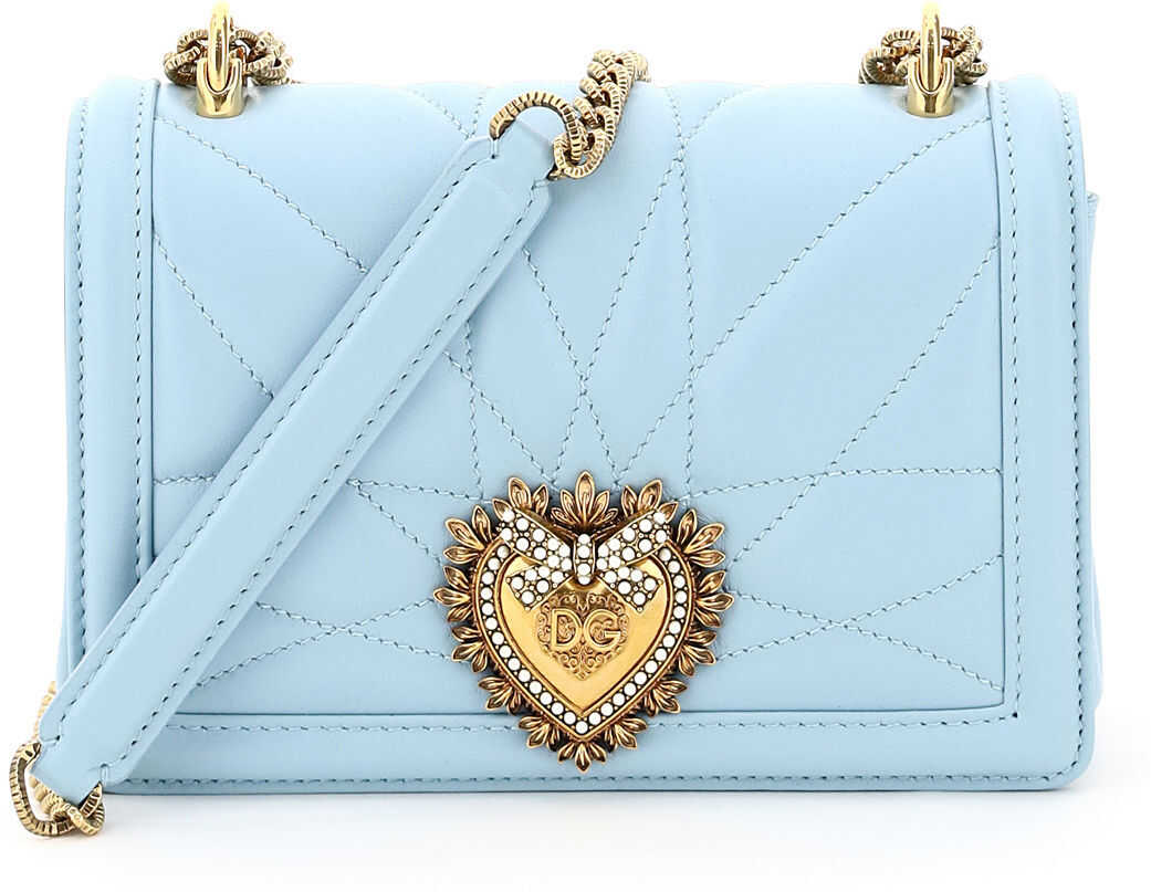 Dolce & Gabbana Devotion Crossbody Mini Bag* AZZURRO