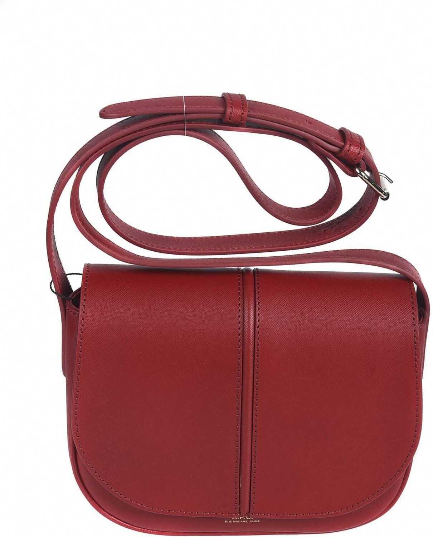 A.P.C. Betty Crossbody Bag In Red PXBJQF61179GAB Red imagine b-mall.ro