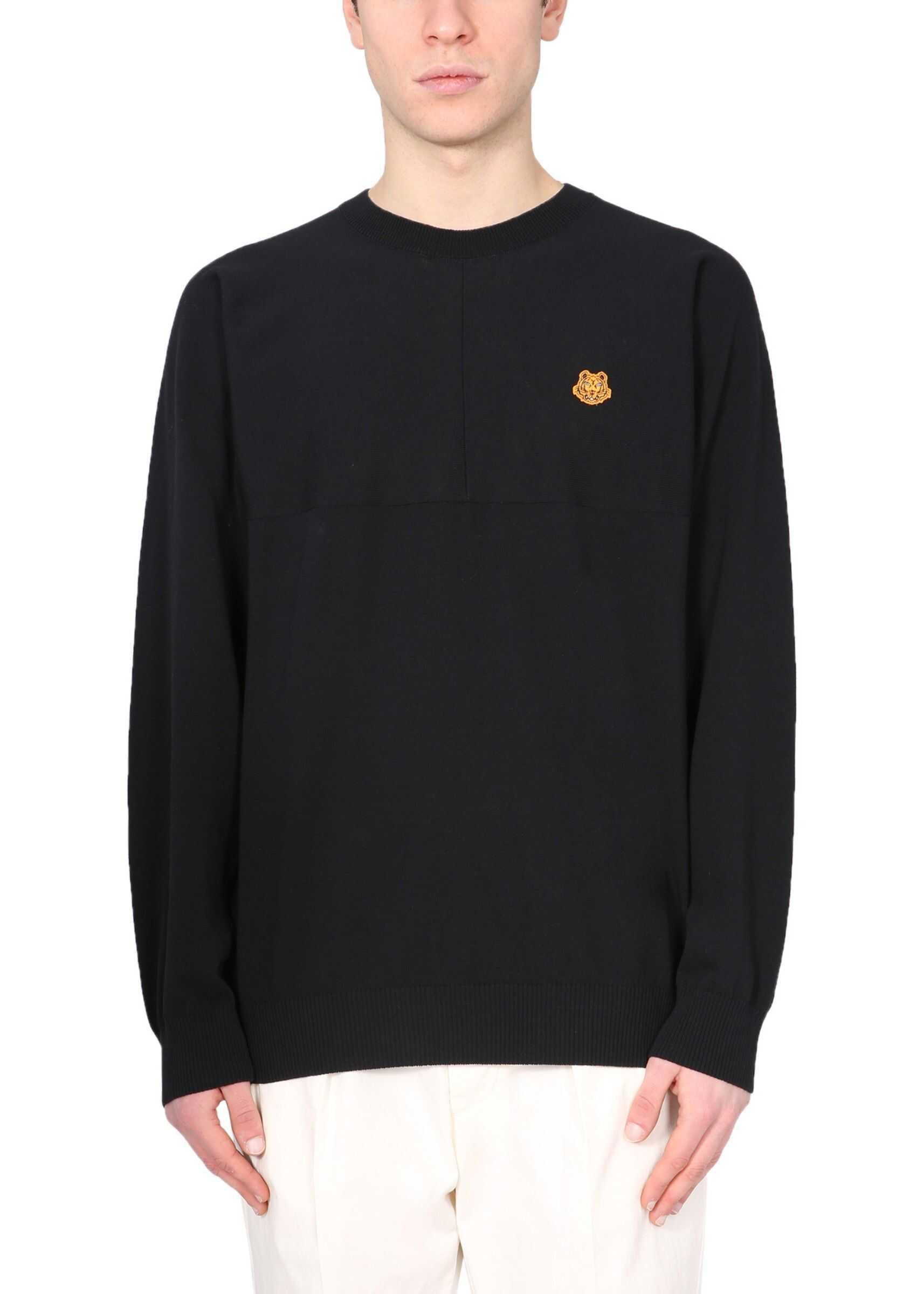 Kenzo Crew Neck Sweater BLACK imagine