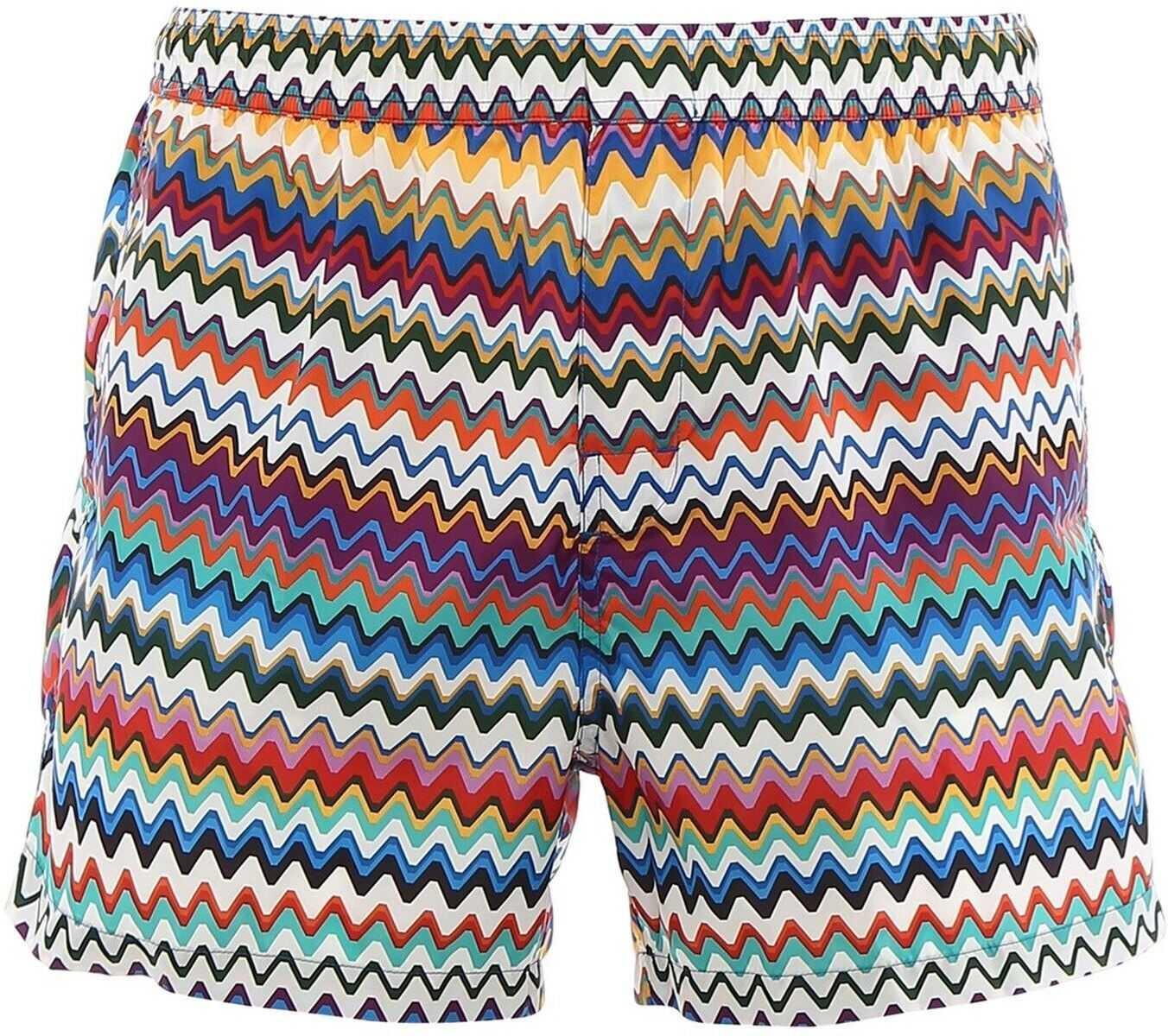 Missoni Multicolour Swim Shorts Multi imagine