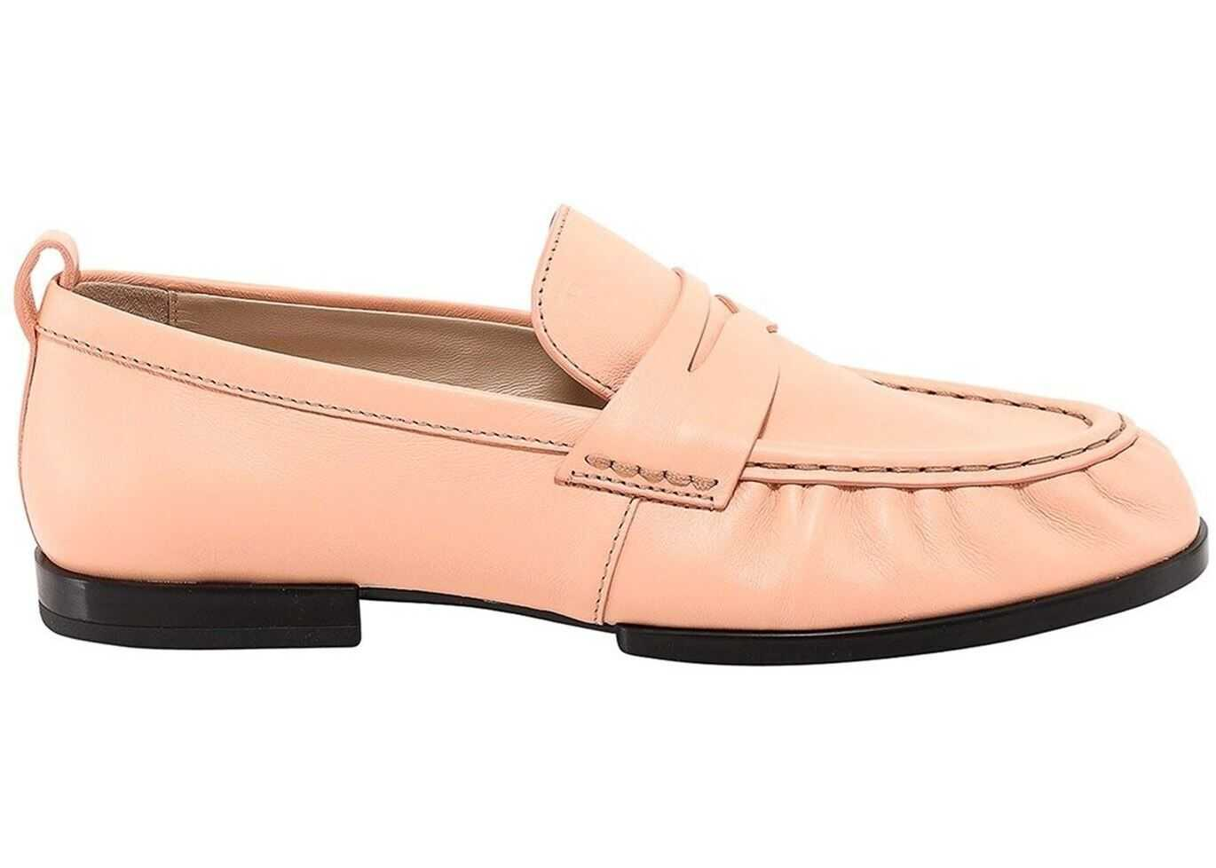 TOD'S Suede Loafers In Pink XXW02E0EC60PHXM008 Pink imagine b-mall.ro