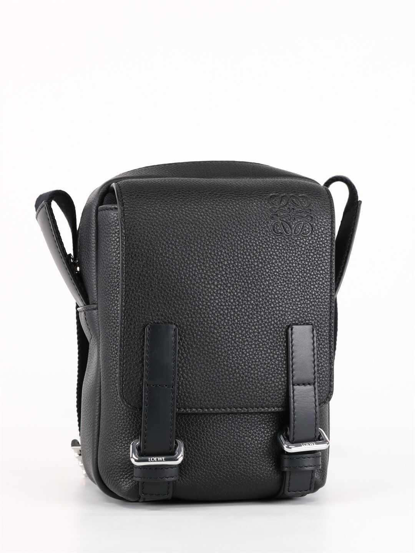 Loewe Xs Military Crossbody Bag B553P59X01 Black imagine b-mall.ro