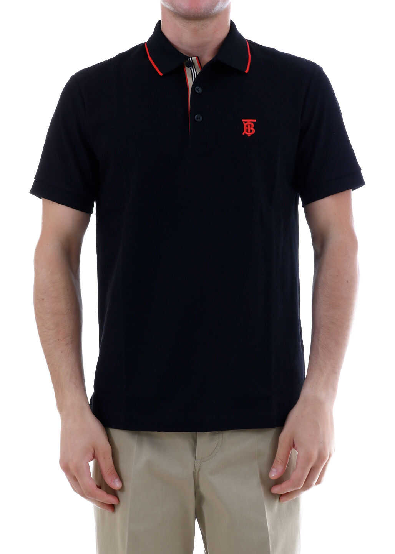 Burberry Polo Shirt Monogram Black imagine