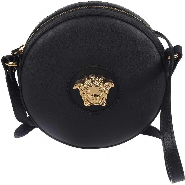 Versace La Medusa Camera Bag In Black DBFI050DVIT3TKVO41 Black imagine b-mall.ro