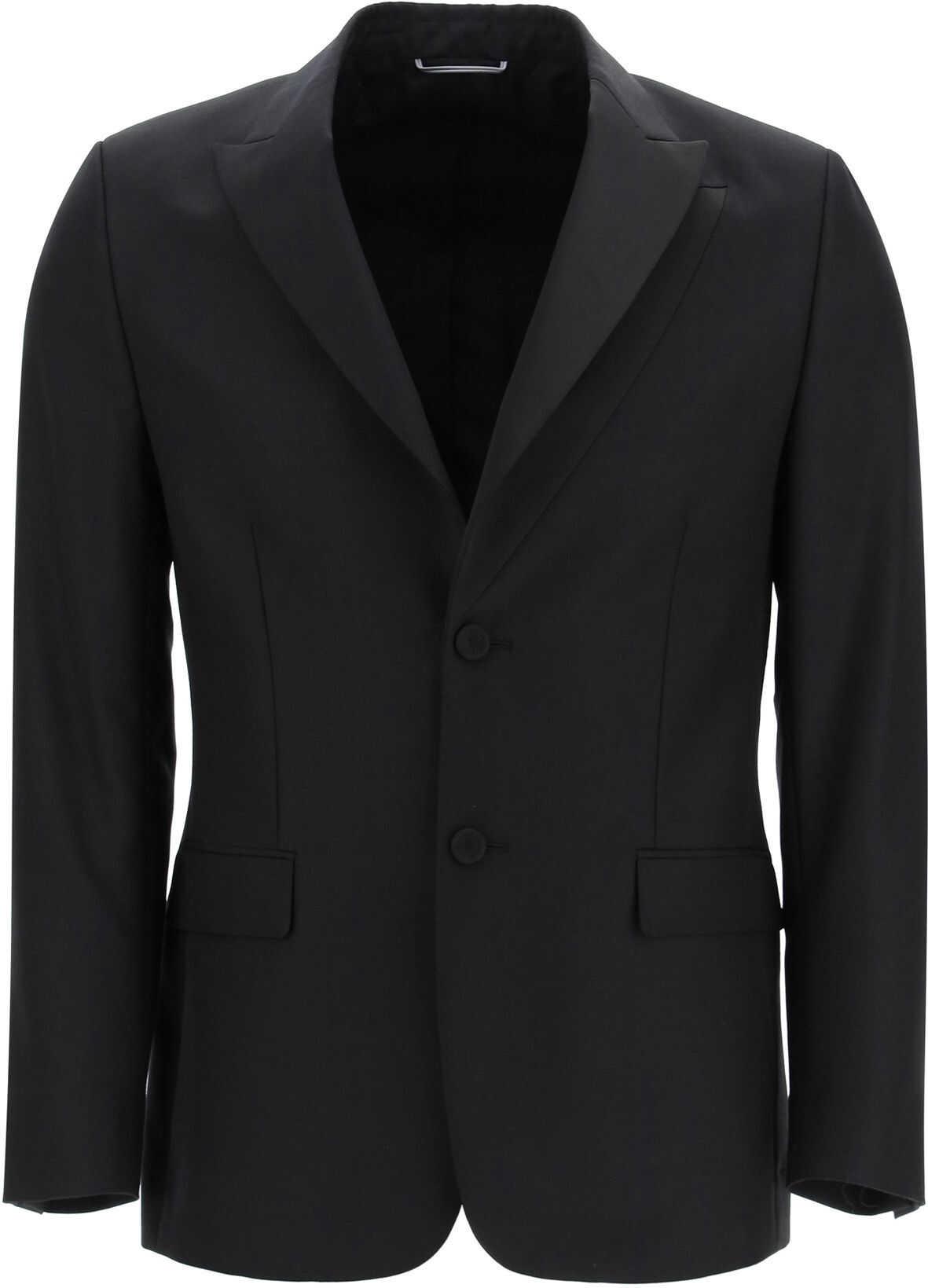 Dior Wool And Mohair Natte' Blazer BLACK imagine