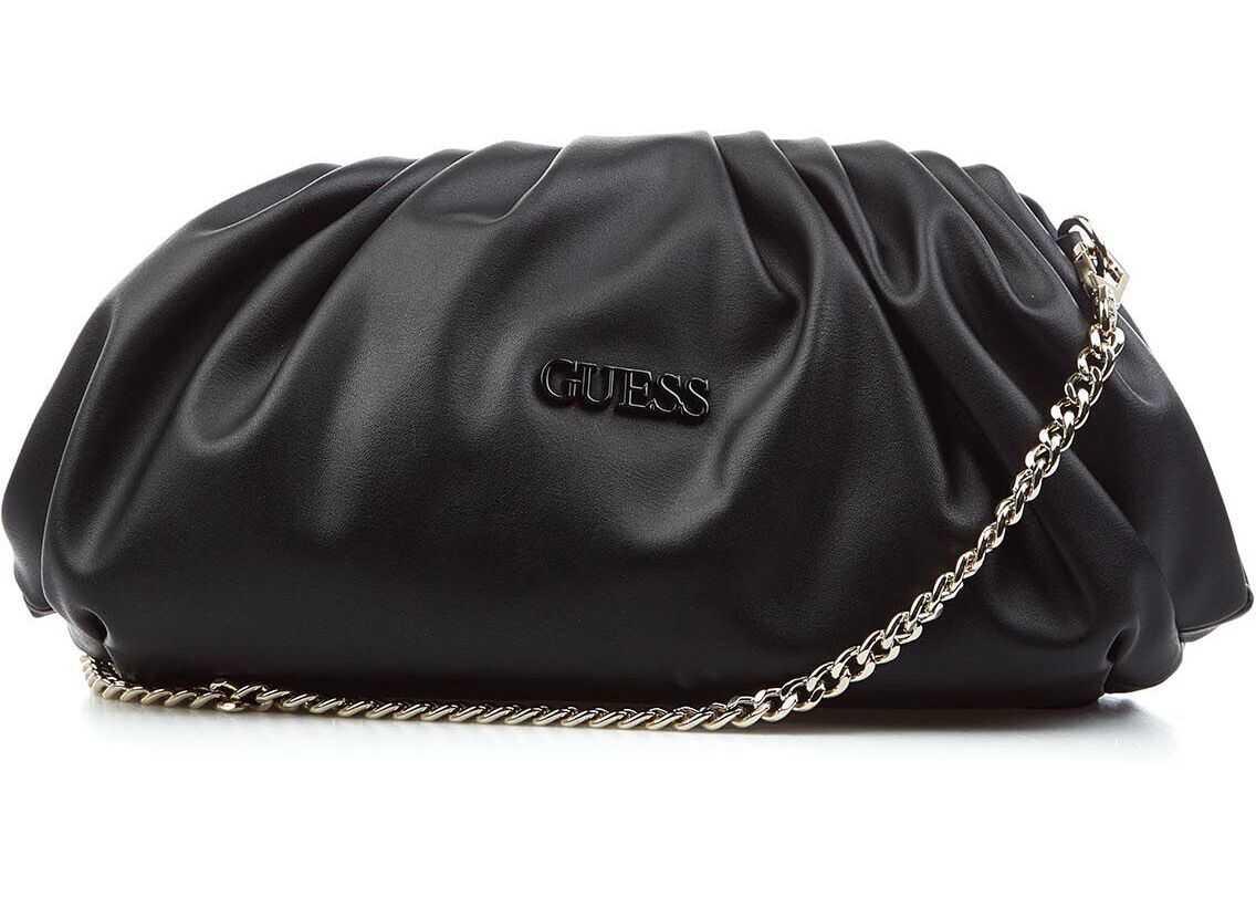 "GUESS Mini puffer bag ""Central City"" Black imagine b-mall.ro"