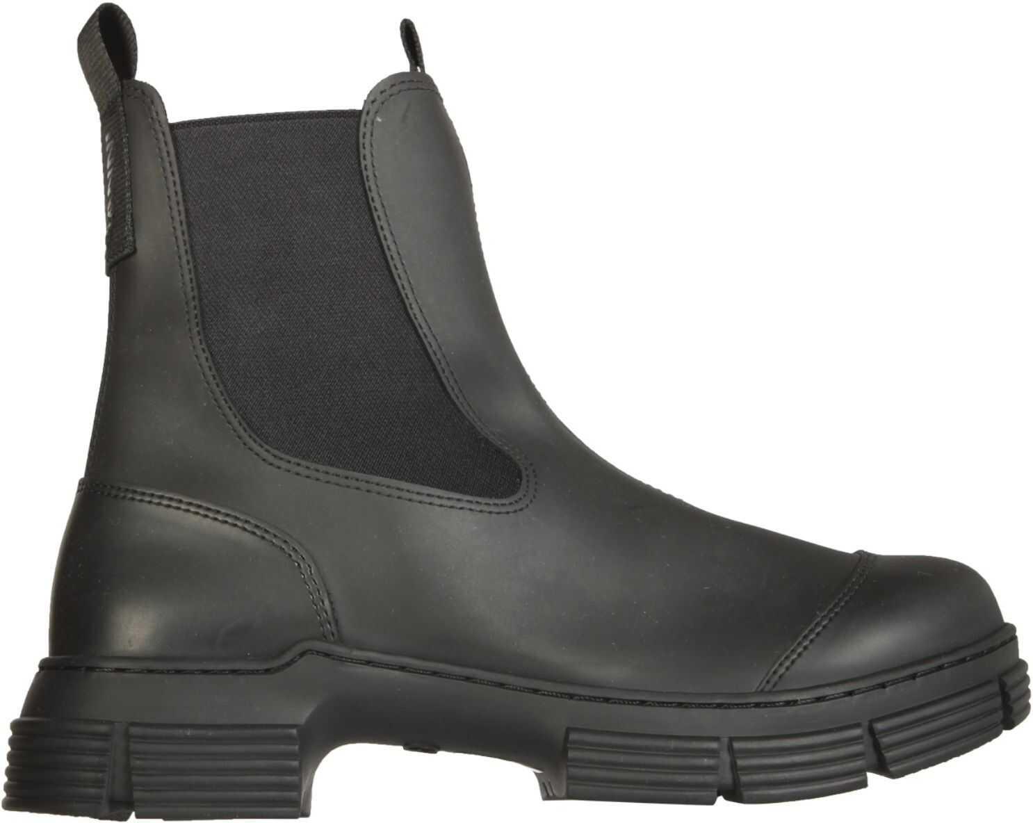 Ganni City Boots S1526_099 BLACK imagine b-mall.ro