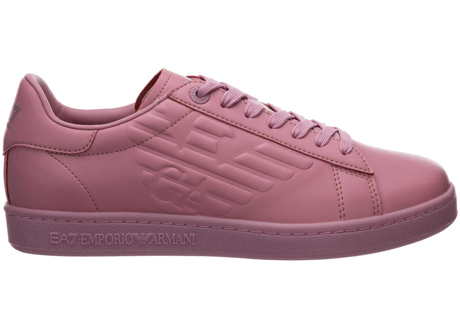 EA7 Trainers Sneakers X8X001XCC51N428 Pink imagine b-mall.ro