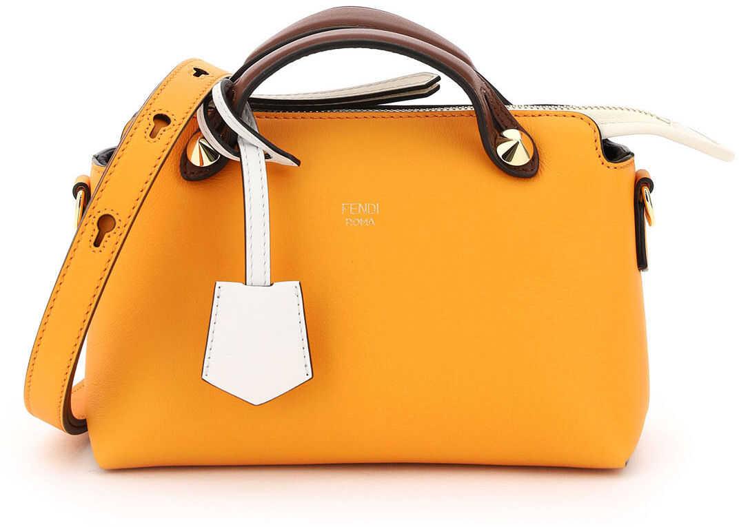 Fendi By The Way Mini Bag 8BL145 5QJ CLEMENT ICE MLC OS imagine b-mall.ro