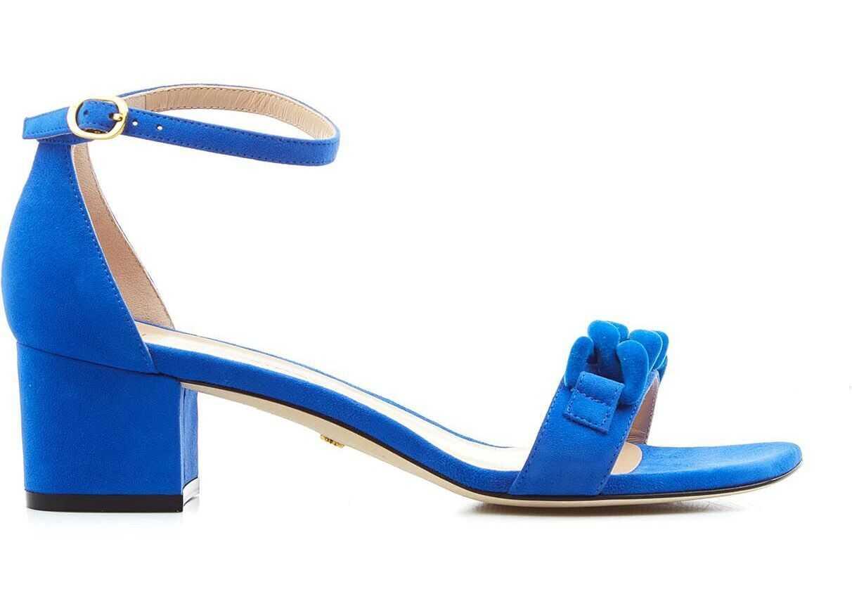 "Stuart Weitzman Sandals ""Amelina"" Blue imagine b-mall.ro"