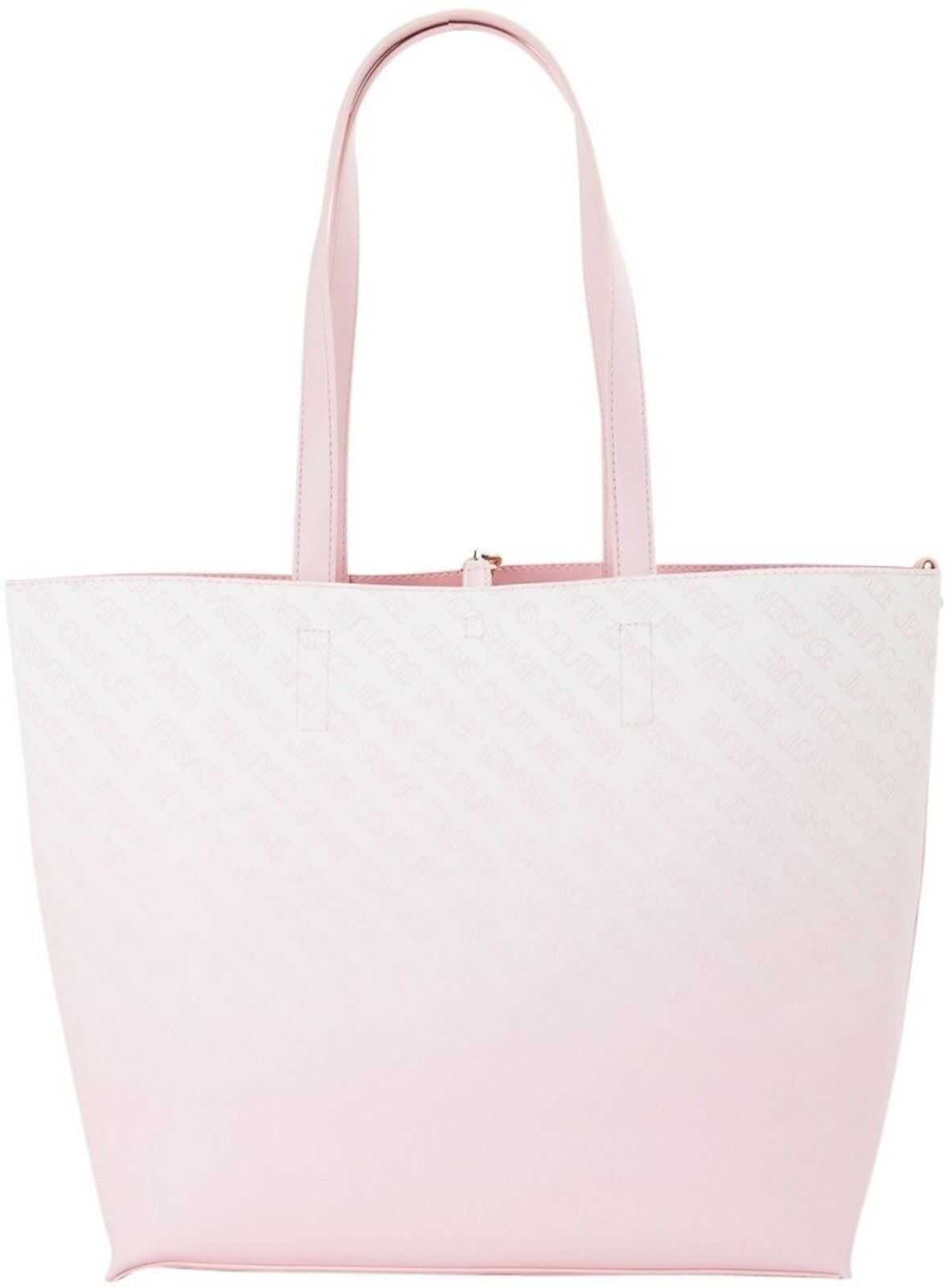 Versace Jeans Couture Faux Leather Tote In Pink E1VWAB6171899426 Pink imagine b-mall.ro