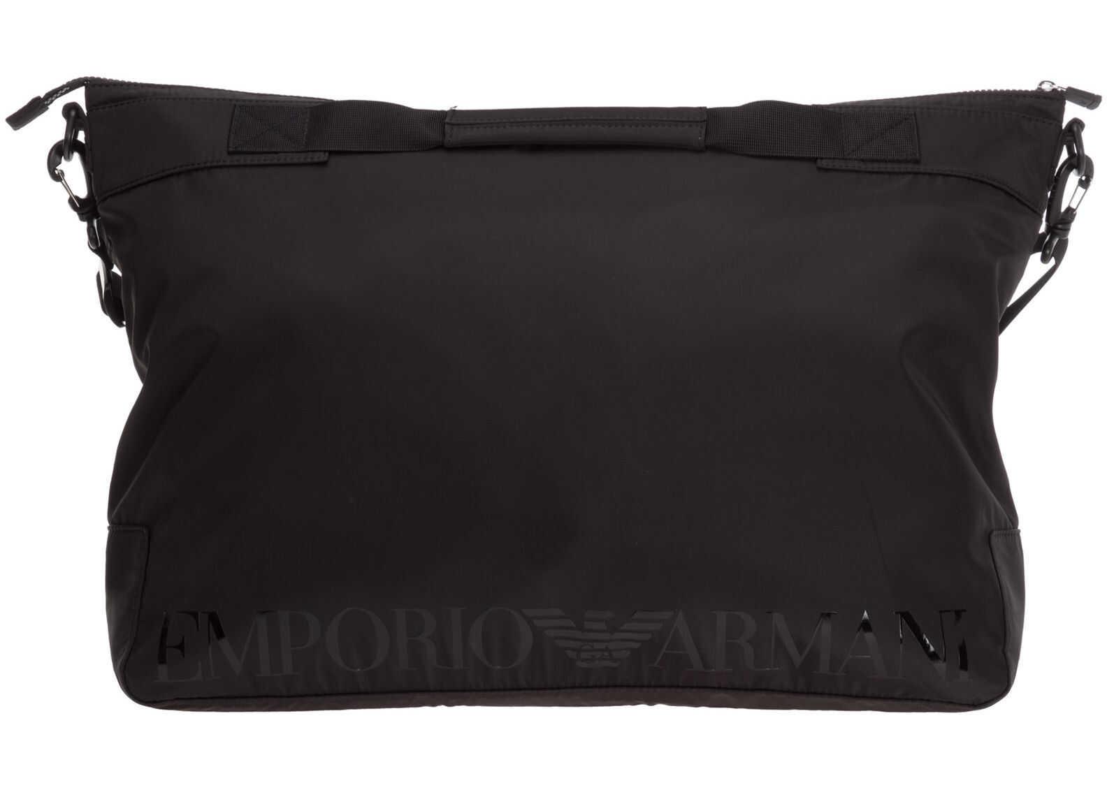 Emporio Armani Shoulder Bag 2112471P80200020 Black imagine b-mall.ro