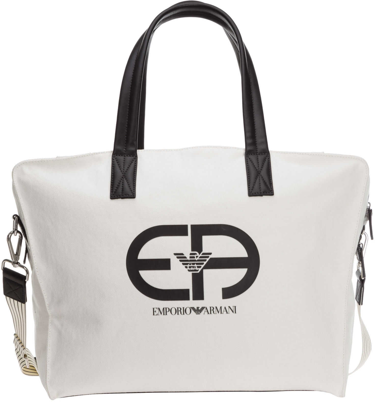 Emporio Armani Shoulder Bag Y4Q305Y025E84915 White imagine b-mall.ro