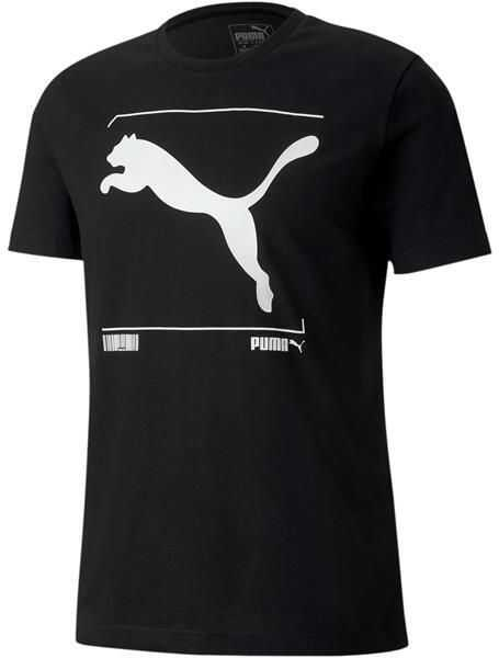 PUMA Nu-Tility Graphic Tee* Black
