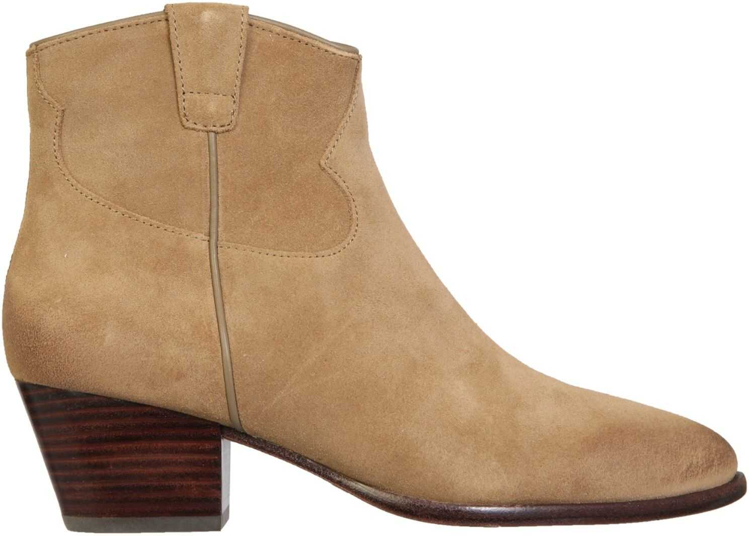 ASH Houston Boots HOUSTON01_BABYSOFTWILDE BROWN imagine b-mall.ro