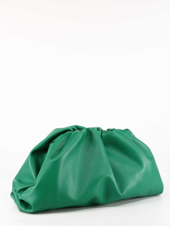 Bottega Veneta The Pouch Bag 576227 VCP40 Green imagine b-mall.ro