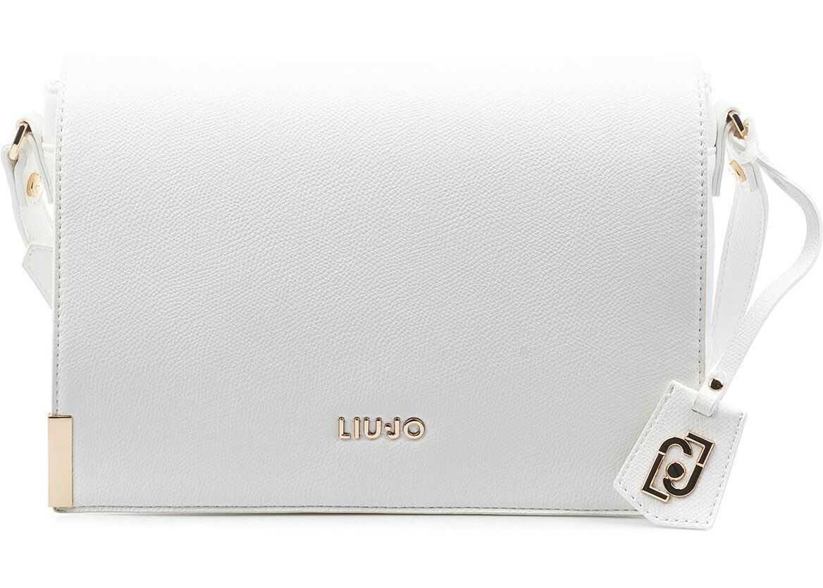 Liu Jo Eco-friendly crossbody bag White imagine b-mall.ro