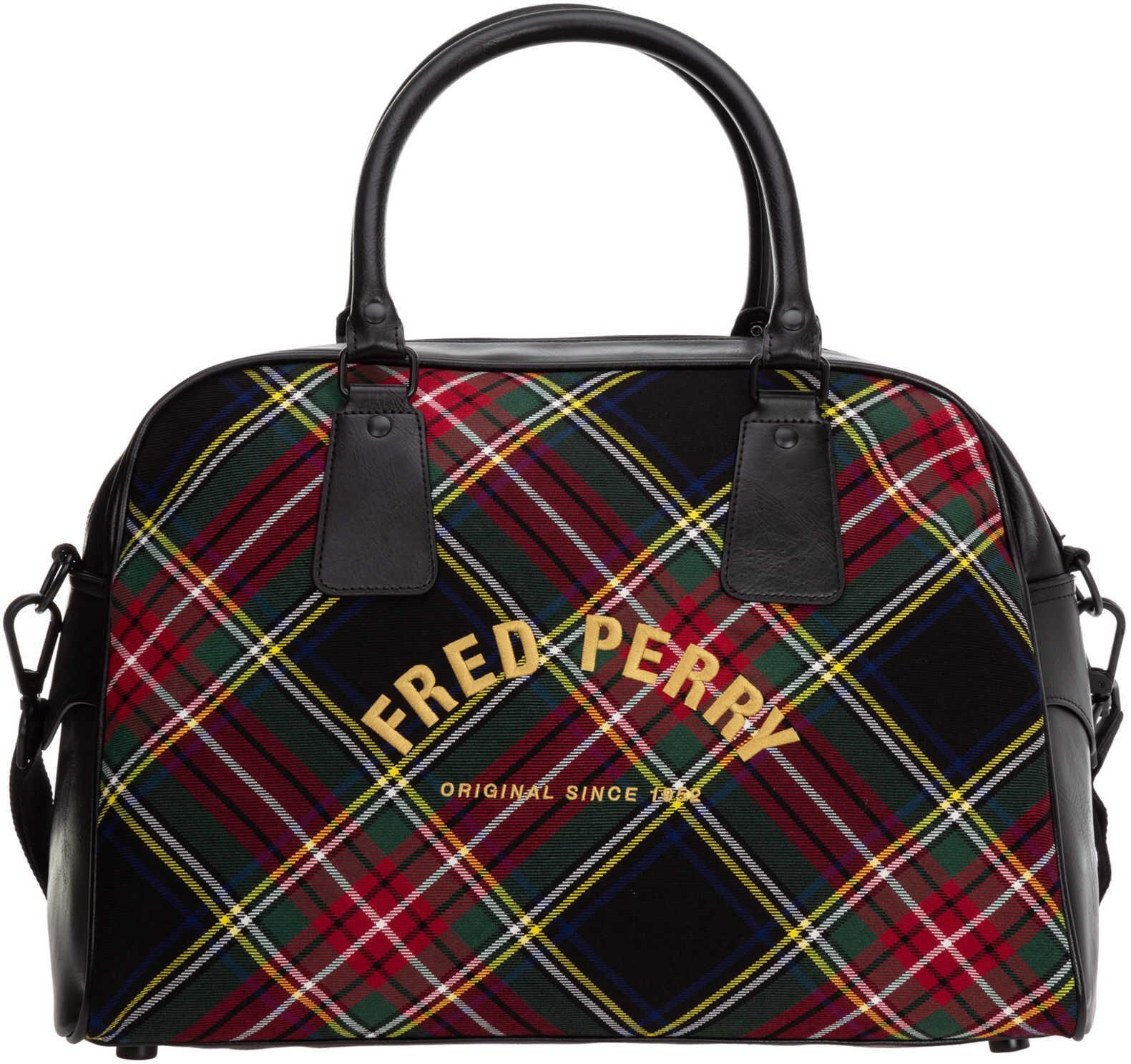 Fred Perry Shoulder Bag L1316 Black imagine b-mall.ro