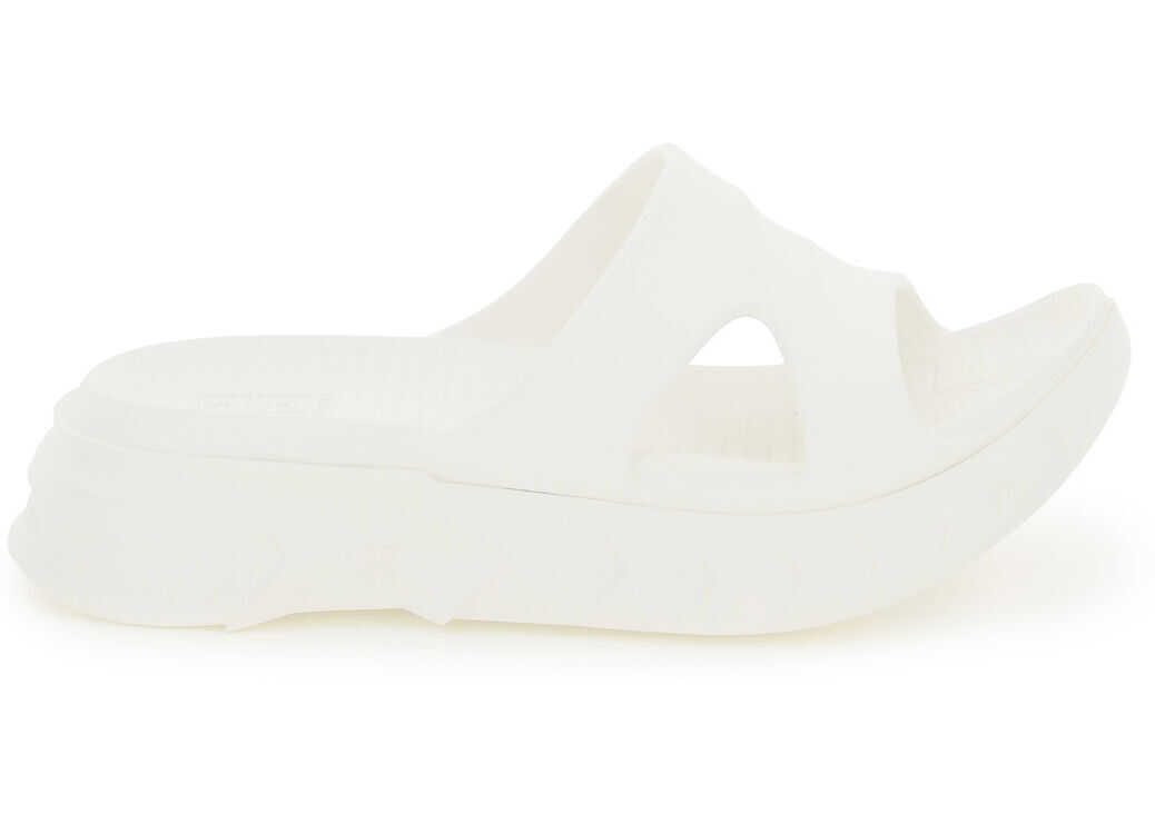 Givenchy Marshmallow Rubber Mules BE305AE0YA OFF WHITE imagine b-mall.ro