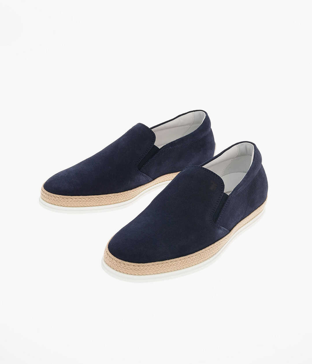 TOD'S suede Slip on sneakers BLUE imagine b-mall.ro