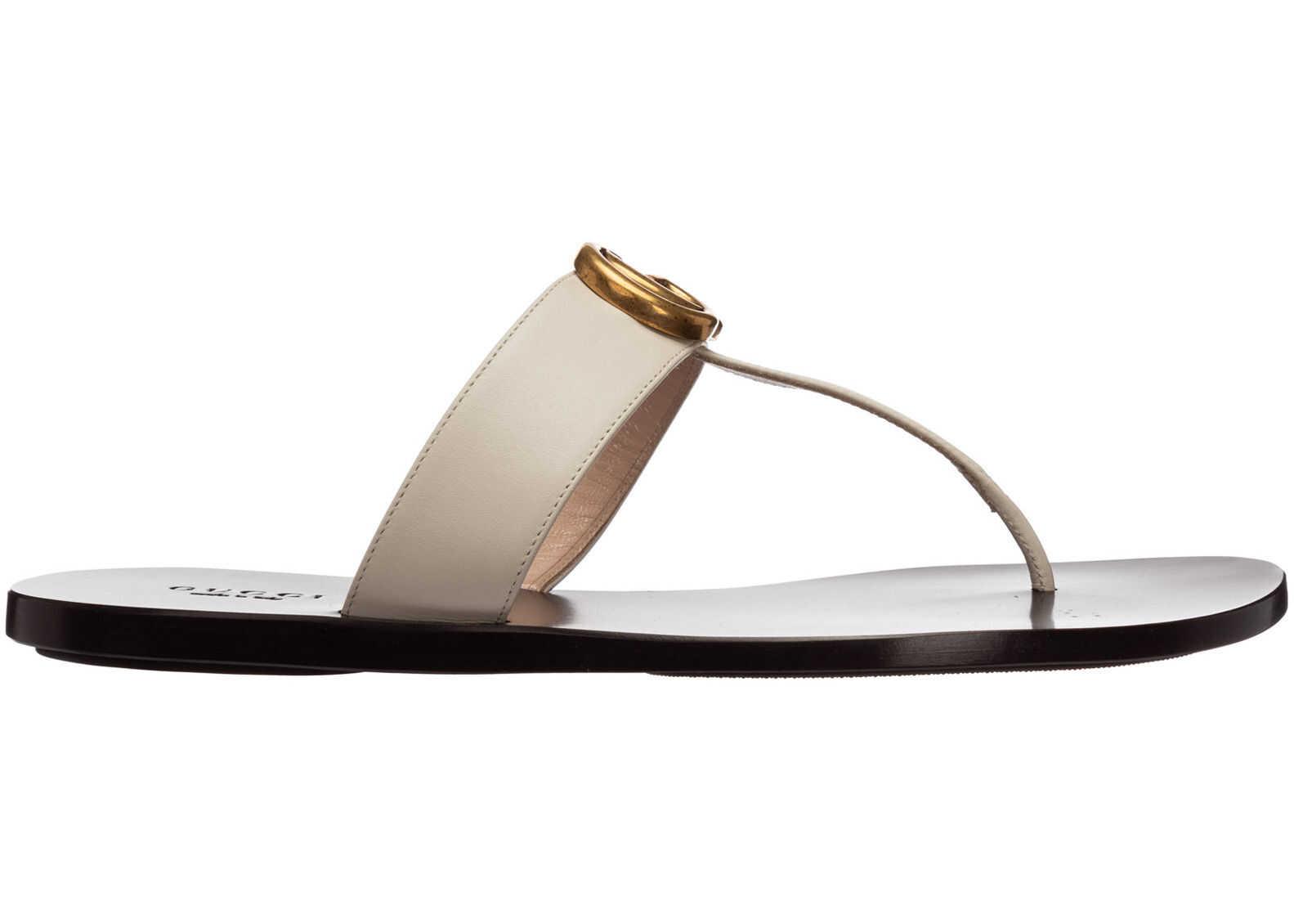 Gucci Flops Sandals 497444A3N009022 White imagine b-mall.ro