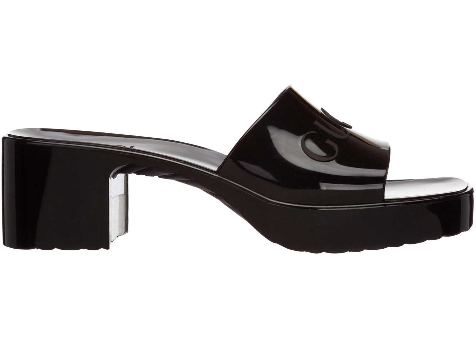 Gucci Sandals 624730J87001000 Black imagine b-mall.ro