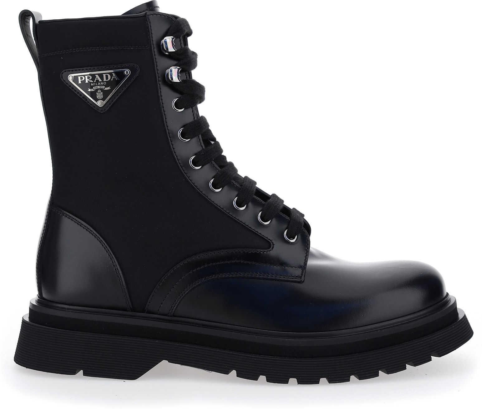 Prada Boots 2UE0113L09 N/A imagine b-mall.ro