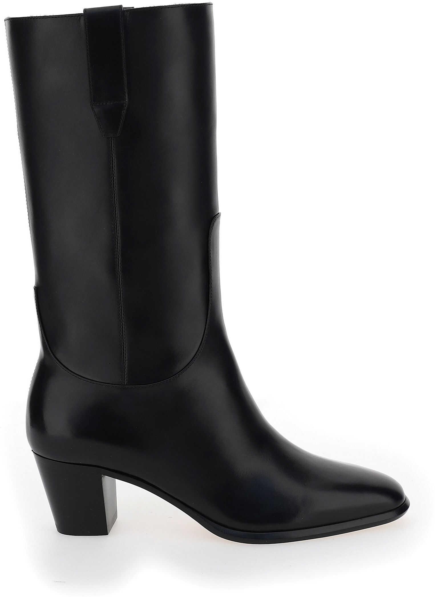 Francesco Russo Boots FR35031A12001 NERO imagine b-mall.ro