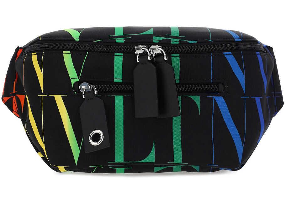 Valentino Garavani Belt Bag VY2B0982MVX NERO/MULTICOLOR imagine b-mall.ro