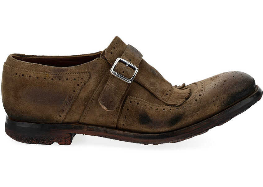 Church's Lace Up Shoes EOG001FF000009PX TABACCO imagine b-mall.ro