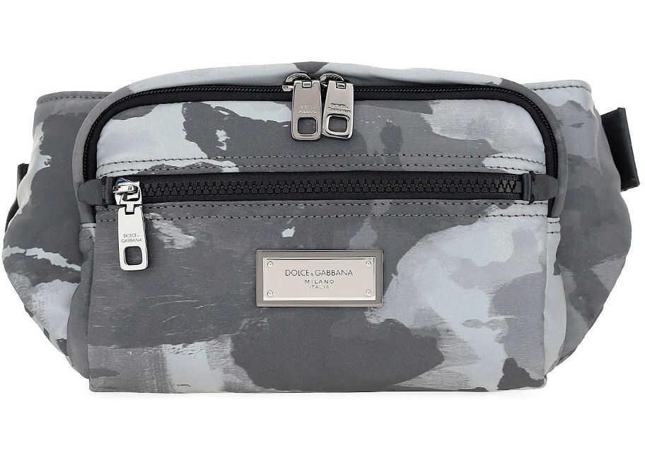 Dolce & Gabbana Belt Bag BM1967AO282 WHITE/BLACK imagine b-mall.ro