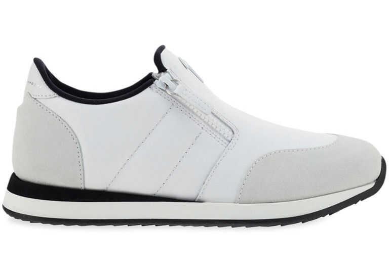 Giuseppe Zanotti Sneakers EU10015 OFF WHITE imagine b-mall.ro