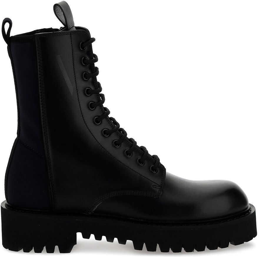 Valentino Garavani Boots VY2S0E07TRW BLACK imagine b-mall.ro