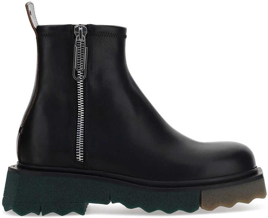 Off-White Boots OMID004S21LEA001 BLACK BLACK imagine b-mall.ro