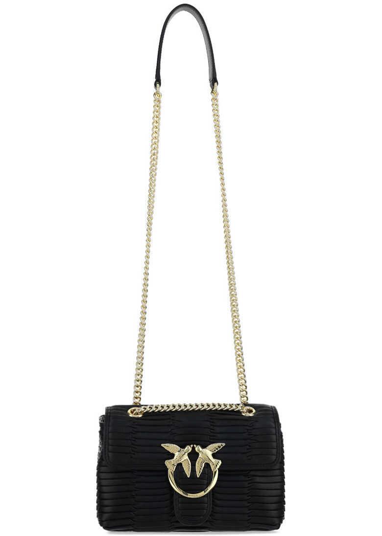 Pinko Love Mini Shoulder Bag 1P223YY6YG NERO LIMOUSIN imagine b-mall.ro