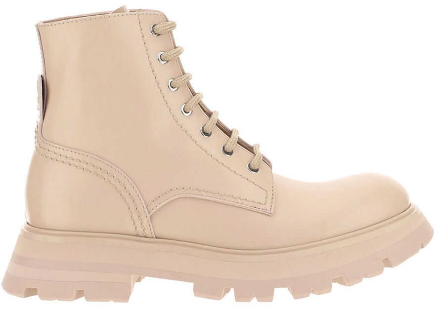Alexander McQueen Boots 657569WHZ80 BLUSH 211 imagine b-mall.ro