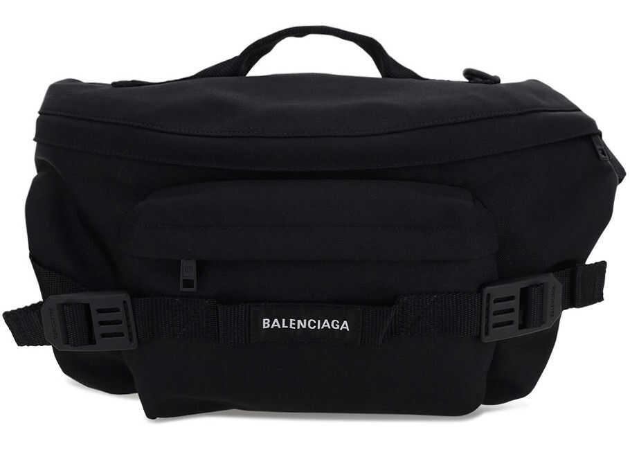 Balenciaga Belt Bag 6440352BKPI BLACK imagine b-mall.ro