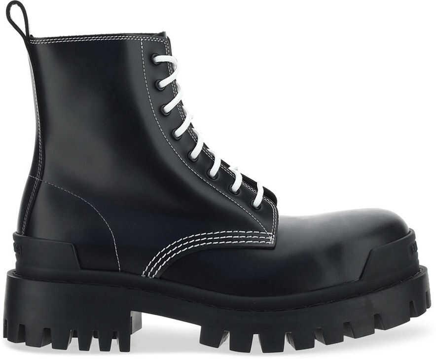 Balenciaga Boots 590974WA964 BLACK/WHITE imagine b-mall.ro