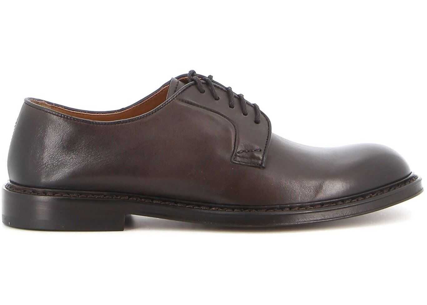 Doucal's Harley Derby Shoes DU1385PHOEUY196TM00 Brown imagine b-mall.ro
