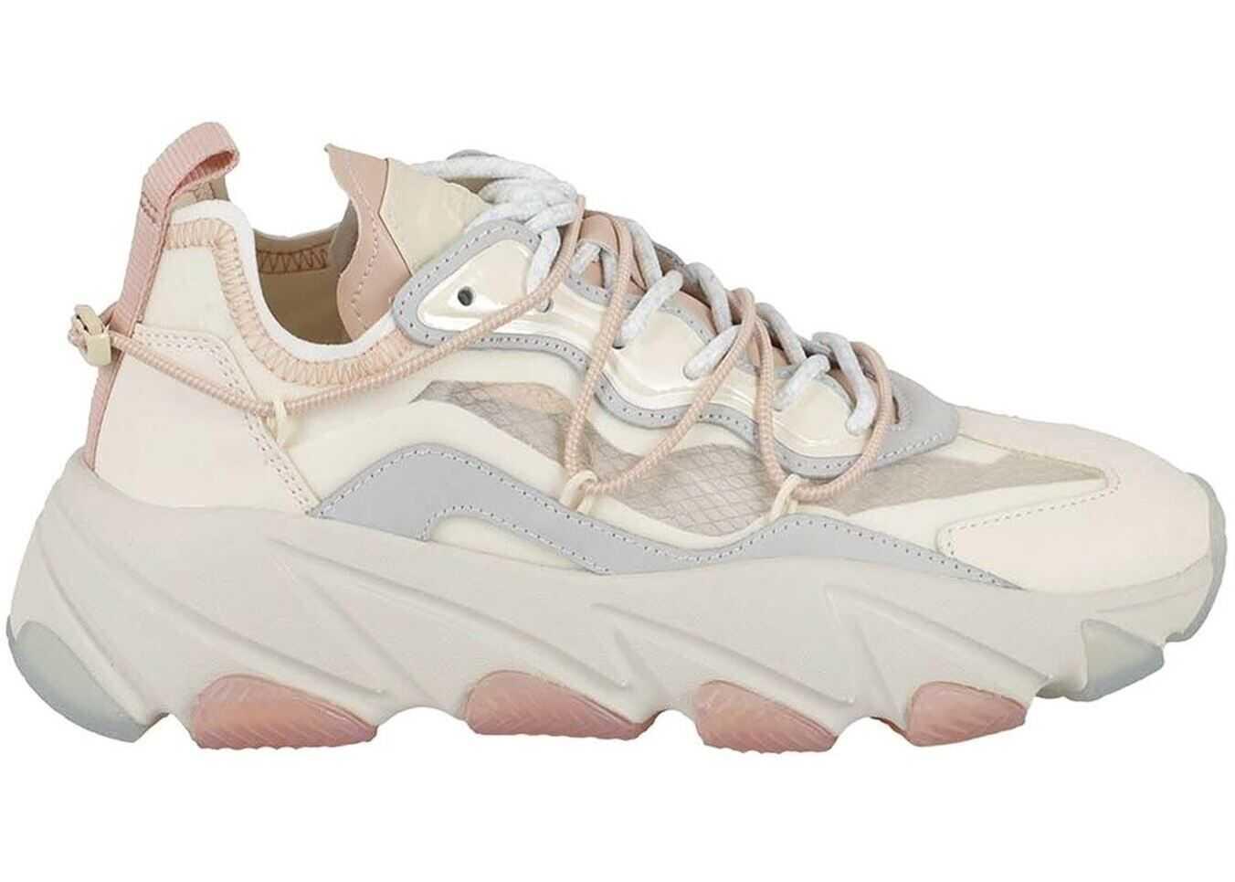 ASH Extrabis Sneakers In Cream Color EXTRABIS02MULTICOLOR Cream imagine b-mall.ro