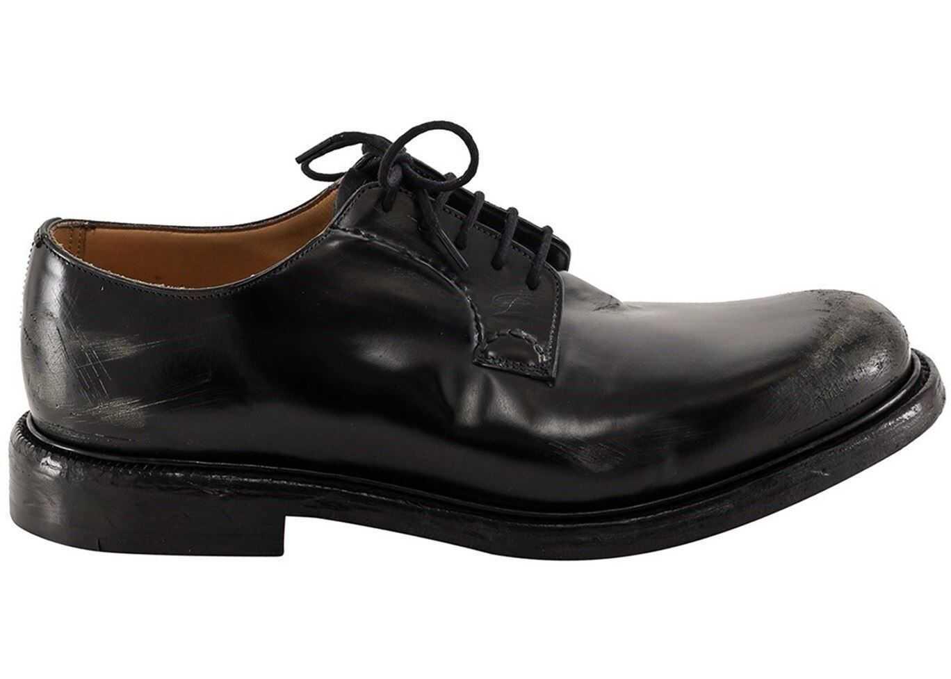 Church's Shannon Shoes In Black EEB3379XVF0AAB Black imagine b-mall.ro
