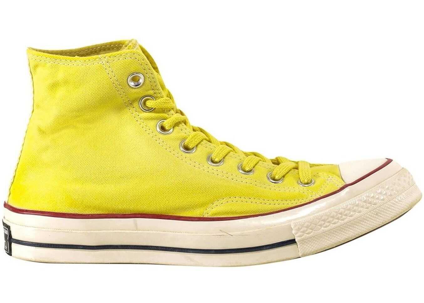 Converse Chuck 70 Hi-Top Sneakers In Yellow 171020C913 Yellow imagine b-mall.ro